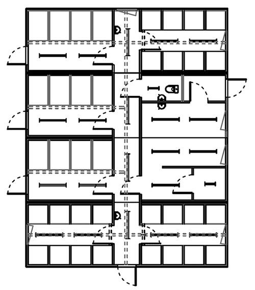 Окончательный план здания